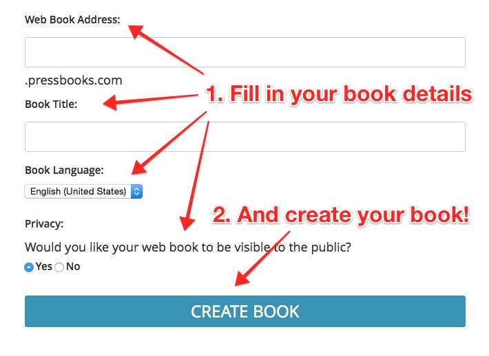 Enter your book details