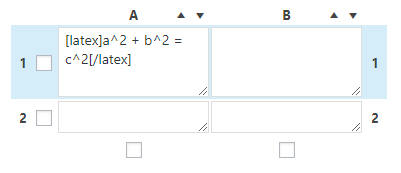 wrap your formula with the [latex][/latex] shortcode